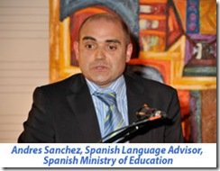 Andres Sanchez at William Aberhart International Spanish Academy